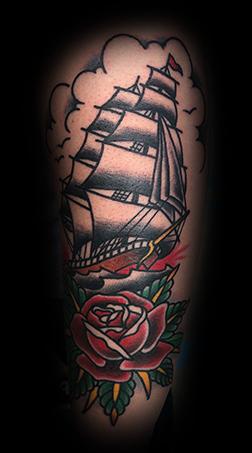 Clipper Chris Jones Tall Ship American Traditional (1)