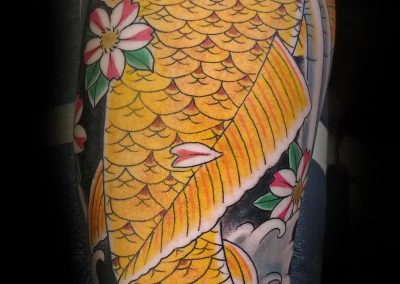Koi Tattoo Best in Charleston and West Ashley Glenn Collins