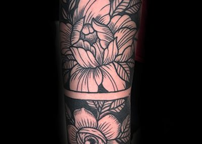 Illustrate Flowers and Dot Work Chris Jones