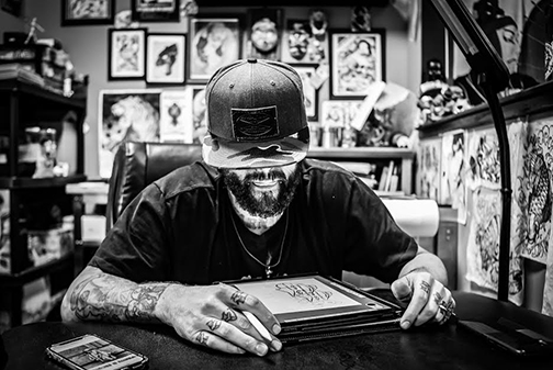 Glenn Collins Wins Best Tattoo Artist in Charleston!